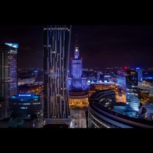 Fotoobraz Złote centrum
